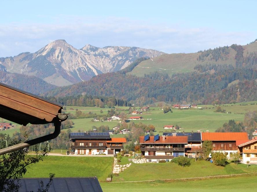 Blick aus Ferienwohnung nach Tirol